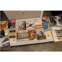 Lot Of Vintage Paper Related, Art, Canadian Pictoral, Etc