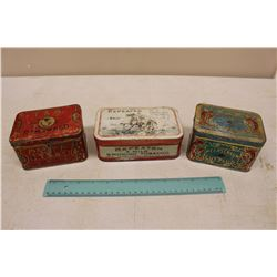 Lot Of Tobacco Tins (Meerchaum, TRepeater, T&B Renowned)