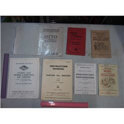 Stationary Engine Operation Manuals