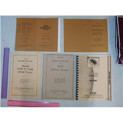 Advance-Rumely Oilpull Tractor Manuals