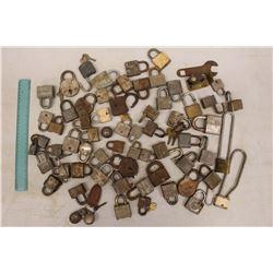 Lot of Assorted Locks