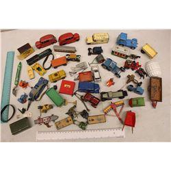 Lot Of Vintage Metal Toy Cars, Lots Of Dinky Brand