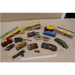 Lot Of Vintage Metal Toy Cars