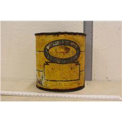 Original Buffalo Oil Tin