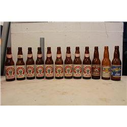 Lot of Beer Bottles w/Pilsner Box