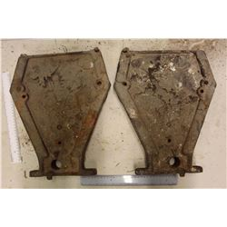 Antique Cast Iron Drill Ends (2)