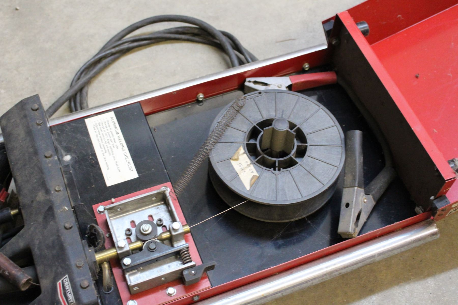 Century Portable MIG Wire Feed Welder, With Manual And ...