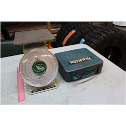 Universal Dial Scale & A Nakita Box w/Glues & Adhesives