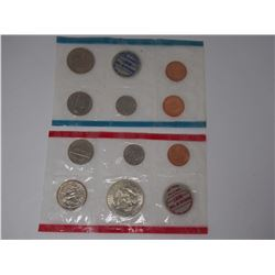 1969 USA Uncirculated Mint Coin Sets