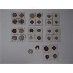 Lot OF Misc. Collectible and Commemorative Coins and Tokens
