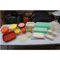 Lot of Tupperware