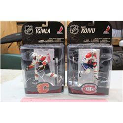 NHL Figures (2): Jarome Iginla & Saku Koivu