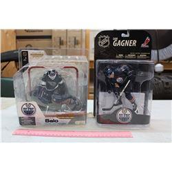 NHL Edmonton Oilers Figures (2): Tommy Salo & Sam Gagner