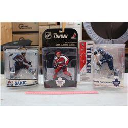NHL Figures (3): Joe Sakic, Mats Sundin & Darcy Tucker
