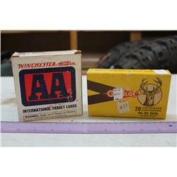 Winchester Western AA International Target Loads & Gevelot Cartridges
