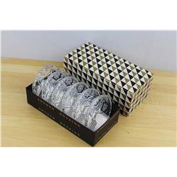 Anchor Hocking Cut Glass Coaster W/ Box