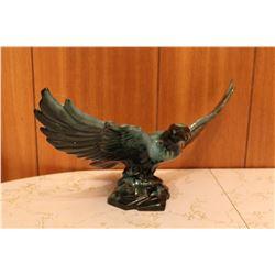 """15"""" Blue Mountain Pottery Hawk"""