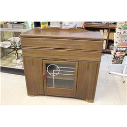 "Retro Buffet Hutch (41"" Tall X 42"" Long X 16"" Deep)"