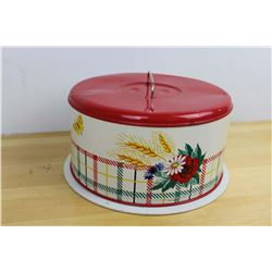 Vintage Tin Cake Carrier