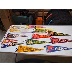 Small Vintage Wool Pennants (13)