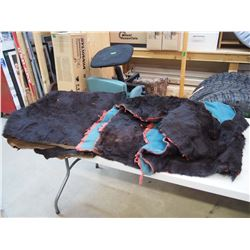 Horsehide Blanket Sleigh Robes (2)