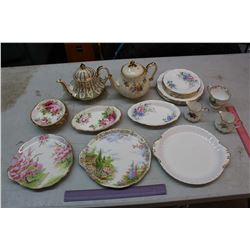 Lot of Mostly Royal Alberta Bone China Dishware