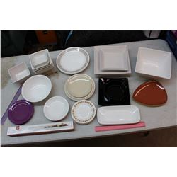 Lot of Plates, Bowls & Serving Dishes