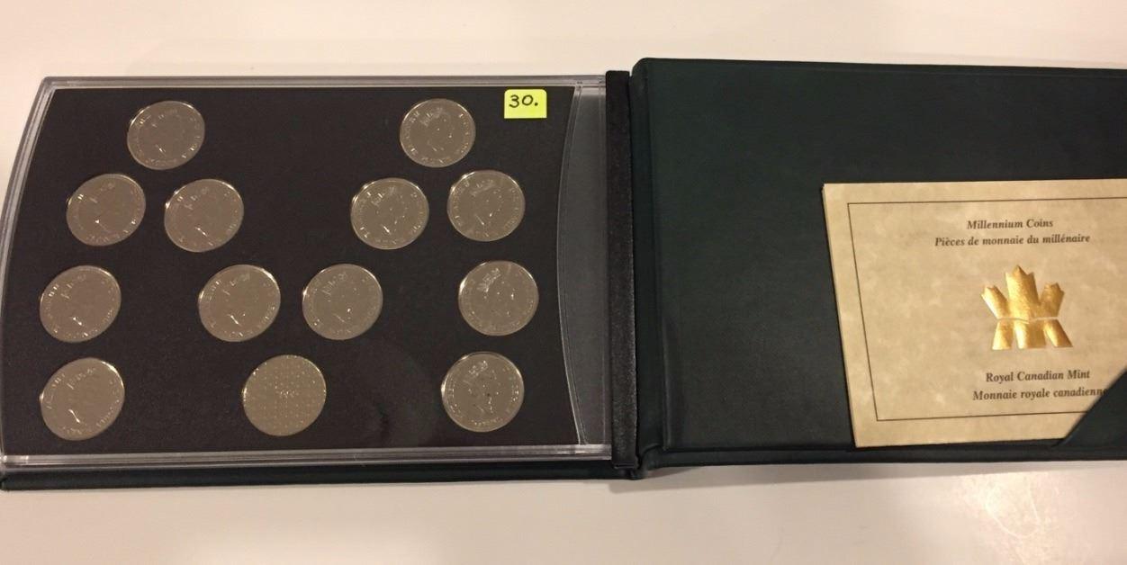 2000 Canada Special Edition Millennium 13-Coin Set