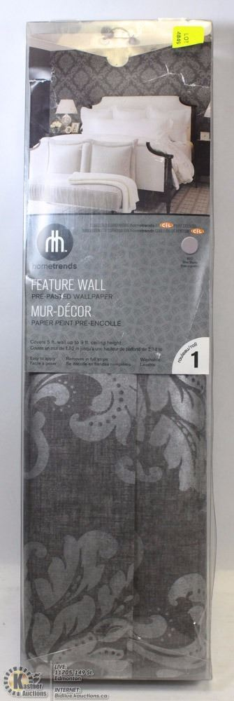 hometrends feature wall prepasted