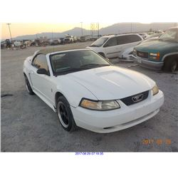 2000 - FORD MUSTANG