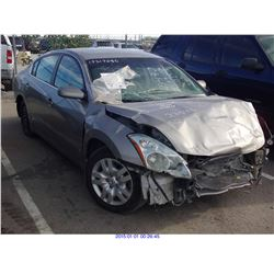 2012 - NISSAN ALTIMA//EXPORT ONLY//SALVAGE TITLE