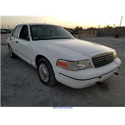 2000 - FORD CROWN VICTORIA//TX TITLE
