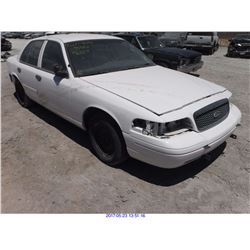 2001 - FORD CROWN VICTORIA//TX TITLE