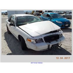 2011 - FORD CROWN VICTORIA//TX TITLE