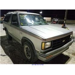1990 - CHEVROLET S10 BLAZER