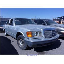 1985 - MERCEDES BENZ 300SD