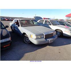 1991 - LINCOLN TOWN CAR