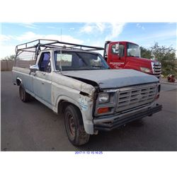 1983 - FORD F150