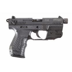 Walther P22 .22 LR Semi Auto Pistol w/Case LNIB