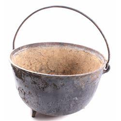 Antique Large Cast Kettle