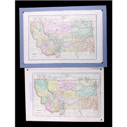 1887-1900 Montana Map Collection