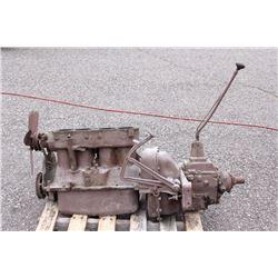 1927 Chevrolet 4-Cylinder Engine & 4-Speed Trans