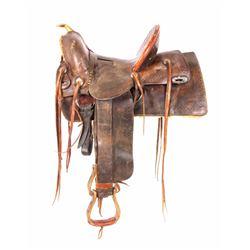 1895-1909 Coggshall Saddle Miles City Montana