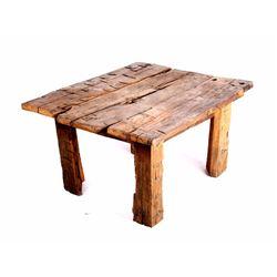 Montana Rustic Reclaimed Timber Coffee Table