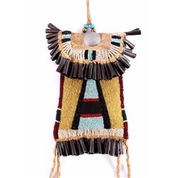 Kiowa Beaded Strike-a-Lite Bag