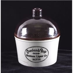 Overland Rye Whiskey Jug Butte Montana Liquor Co.