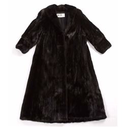 Full Length Supple Mink Fur Coat