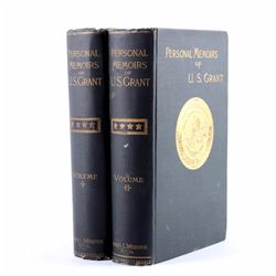 Personal Memoirs of U.S. Grant First Edition 1885