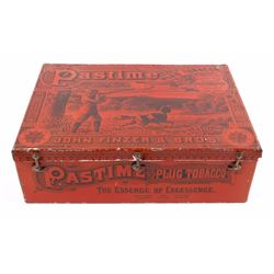Pastime Plug Tobacco Large Counter Tin