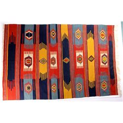Zapotec Native American Indian Wool Rug
